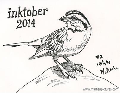 Inktober 2014 - Week 1
