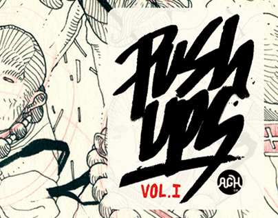Artbook - Push Ups - Vol I by Aleix Gordo Hostau