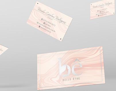 Cartão de Visitas - Belle Être