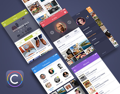 Coloristic UI Kit