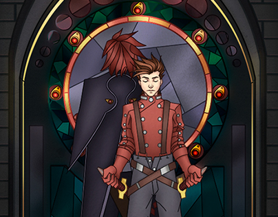 Tales of Symphonia Stained Glass Edition