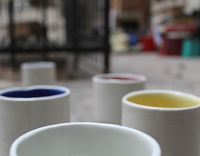 Kippo porcelain cups