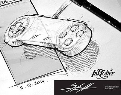 Inktober 2014 - Product Design