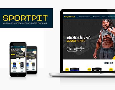 Online shop. Sportpit