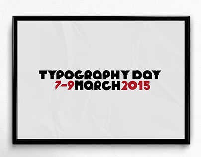 Typography Day Logo Design