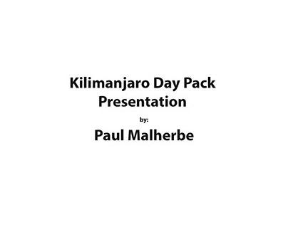 Cape Union Mart Backpack Design Practical