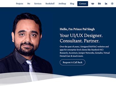 princepal.in UI/UX Designer Portfolio
