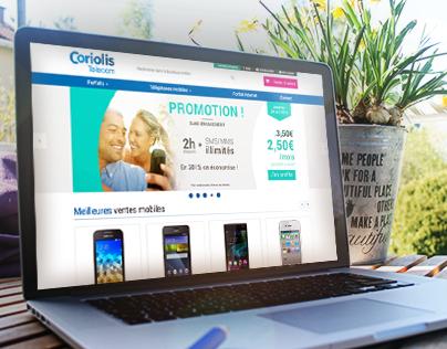 Responsive redesign of Coriolis's website