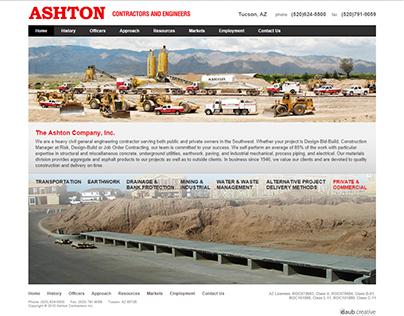 Ashton Construction Inc Website