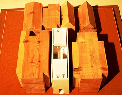 Row House by Tadao Ando