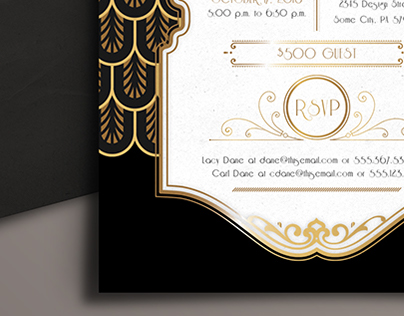 Speakeasy Invitation