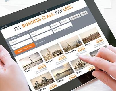 Business Class Guru website