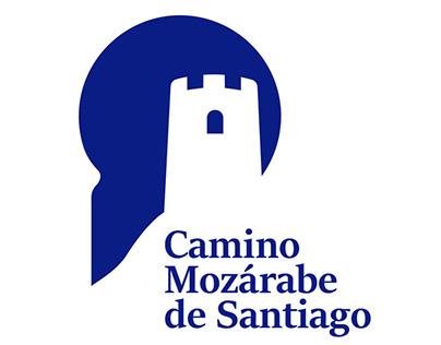logo and signage design. Camino mozárabe de Santiago