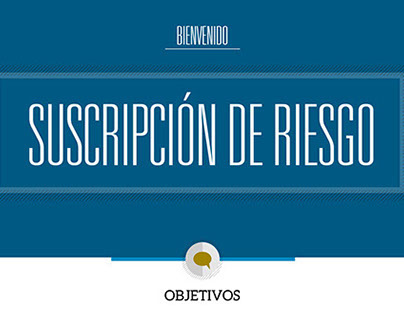 Curso de e-learning - Suscripción de Riesgo