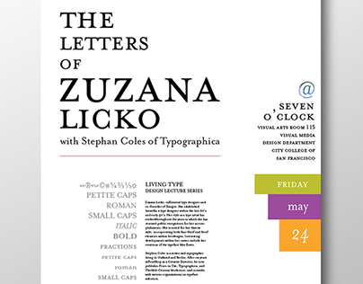 The  Letters of Zuzana Licko