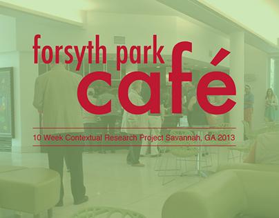 Contextual Research: Forsyth Park Cafe