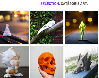 Cults Categories Selections 3D Files to 3D Print