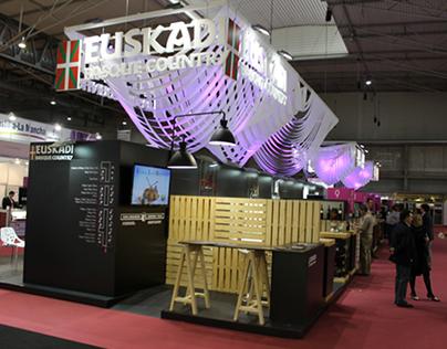 Fundación Hazi stand EUSKADI (años 2014-2015)