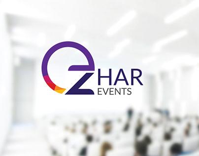 Zhar Events - Logo & Stationery Design
