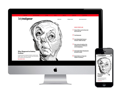 News Site Rebrand - The Daily Intelligencer
