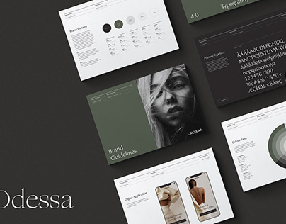 Brand Guidelines Template for InDesign