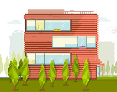 Concept Vector Home Illustrations