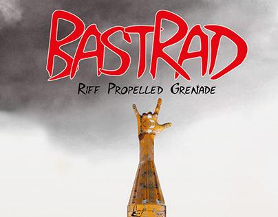 BastRad album cover design