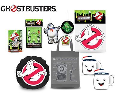 Concept Product & Packaging | Ghostbusters