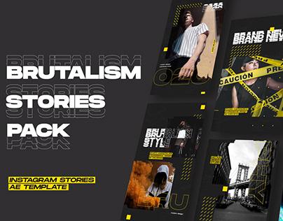 Brutalism Stories Pack