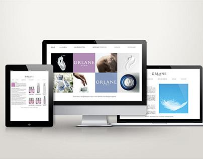 UX/UI Orlane Paris web site