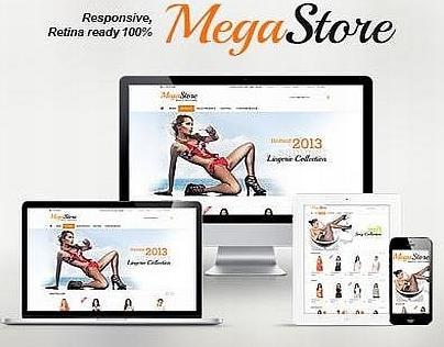 Megastore - Responsive osCommerce theme