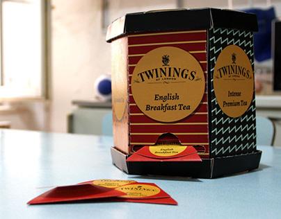 Twinings tea packaging design