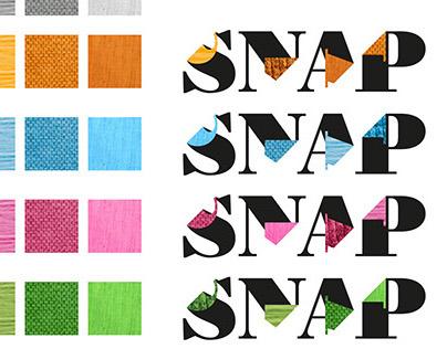 Snap – Fashion brand's visual identity