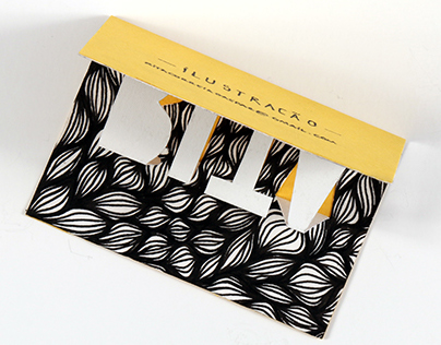 Business Card | illustration and pop-up