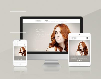 Xenos parrucchieri website