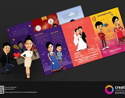 Caricature Wedding Cards
