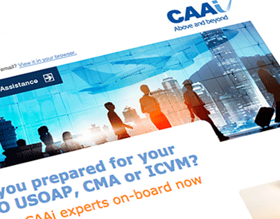 CAA International: Email Campaign Templates
