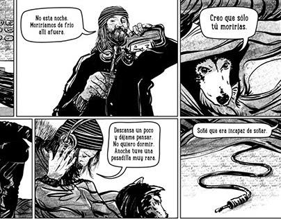 EL NUDO, webcomic