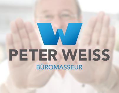 Corporate-Design of Peter Weiss - Office masseur