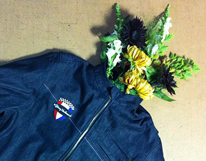 Rider's Outpost Lined Denim Riding Jacket