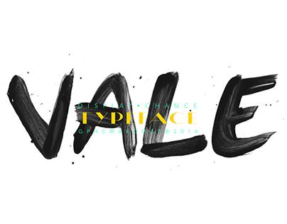 VALE typeface