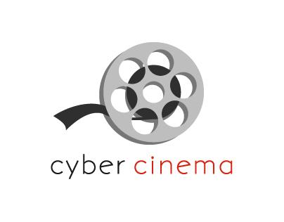 Cyber cinema poster e-commerce website