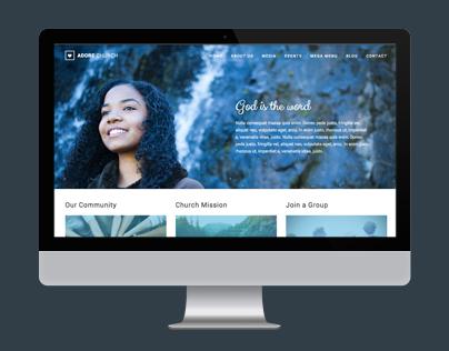 Adore Church - HTML5 Template