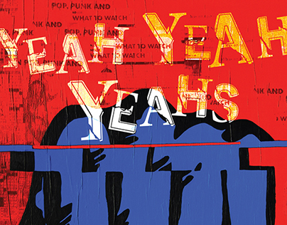 Yeah Yeah Yeahs - Gig Poster