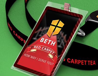 Red Carpet Team Badges