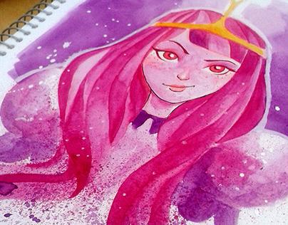 Adventure Time: Princess - Watercolors
