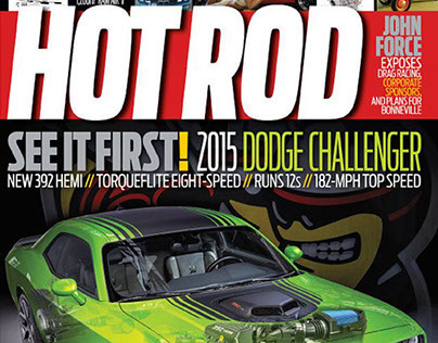 Cover Art Hot Rod Magizine by Tim Feher
