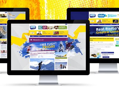 Real Radio digital campaigns