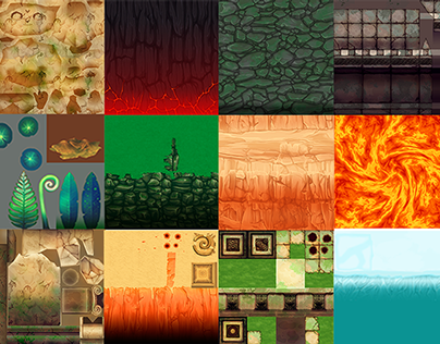 """Textures for videogame """"Inanis & Horo"""""""