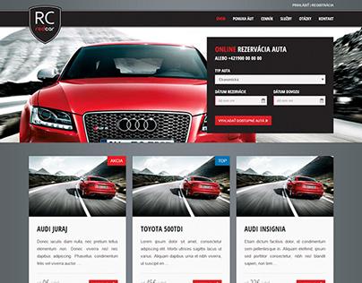 RedCar - website